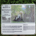 Deb Helf's heritage sign on Marshall St