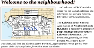 KSAN area map